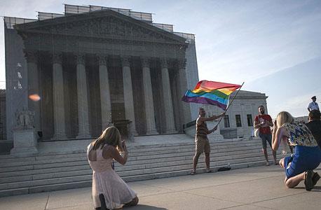 "נישואים חד מיניים בארה""ב, צילום: רויטרס"
