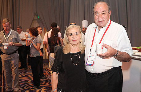 """שלמה מלצר ז""""ל ואשתו עתליה (ארכיון), צילם: אוראל כהן"""