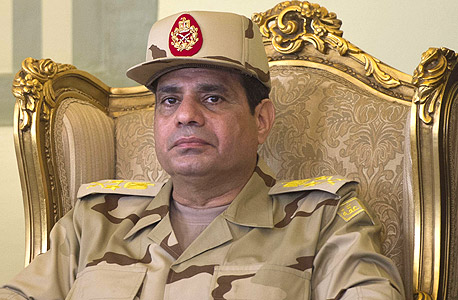 נשיא מצרים א-סיסי, צילום: איי אף פי
