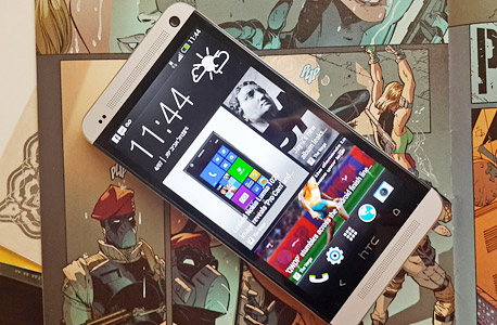 HTC One - כמו כולם, נפגע מהירידה בקצב השדרוגים, צילום: ניצן סדן
