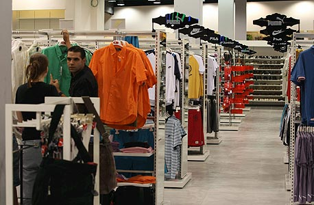 אאוטלט חנות בגדים, צילום: בועז אופנהיים