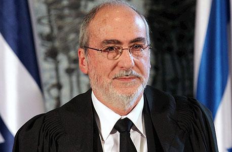 אשר גרוניס נשיא בית המשפט העליון, צילום: אלכס קולומויסקי
