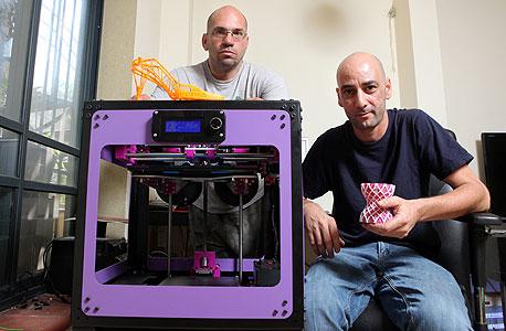 מדפסת תלת ממד 3D סטארט-אפ 3Dsomething, צילום: עמית שעל