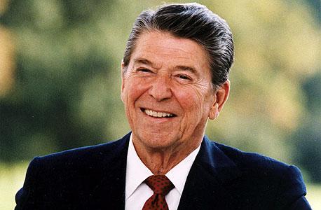 """רייגן. """"לפני היבחרו היתה ראייה הרבה יותר ריאליסטית של איך הכלכלה עובדת"""""""