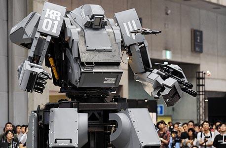 הרובוט היפני Kuratas, צילום: איי אף פי