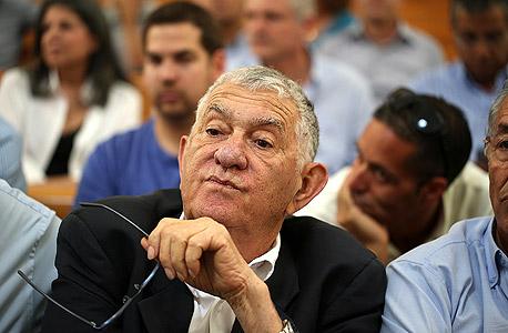 צבי בר במהלך משפטו (ארכיון), צילום: עמית שאבי