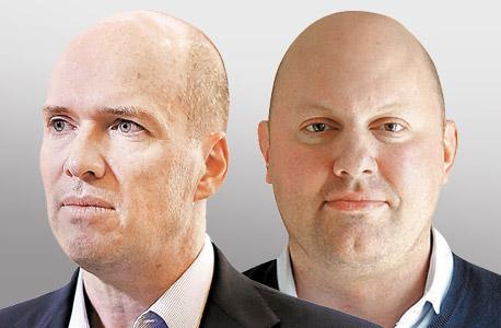 מארק אנדריסן (מימין) ובן הורוביץ, שהשקיעו בבאזפיד ועתידים לשנות אותה, צילום: בלומברג, רויטרס