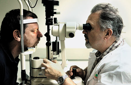 בדיקת העיניים שהזימה את הטענה מהבדיקה הקודמת, שלפיה אני אימת הכביש