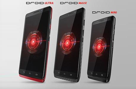 חדש ממוטורולה: Droid Maxx - סמארטפון עם סוללה של 48 שעות