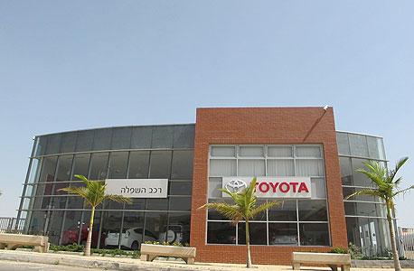 סוכנות טויוטה ברמלה. 12 אלף מכוניות בישראל יזומנו למוסכים, צילום: תומר הדר