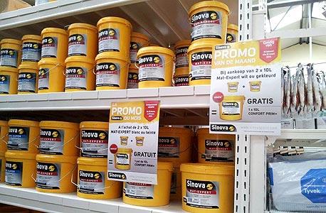 מוצרי נירלט של אינרום (תחת מותג סינובה בבלגיה)