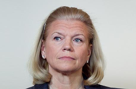 """יו""""ר ומנכ""""לית IBM וירג"""