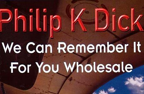 """ספרו של פיליפ ק. דיק, שהיה ההשראה לסרטי """"זכרון גורלי"""", צילום: בלומברג"""