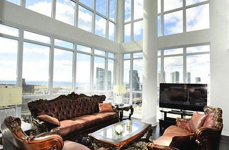 דירת יוקרה נזקים  Airbnb