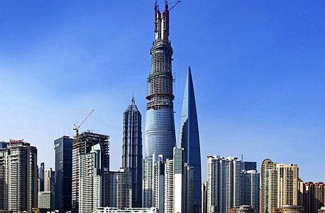 מגדל שנגחאי, סין