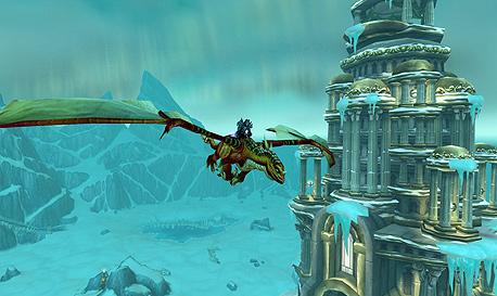 World of Warcraft. בבליזארד רוצים משתמשים אחראים, צילום מסך: Wrath of the Lich King