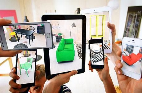 קטלוג איקאה 2014 מציאות מדומה
