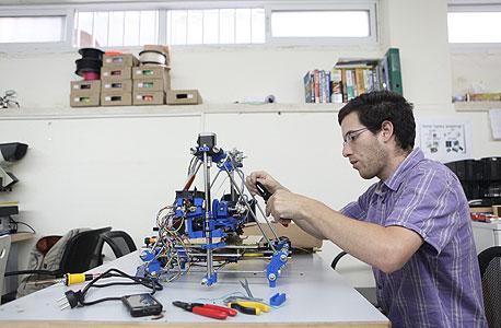 כל אחד יכול לבוא וללמוד ייצור במדפסת 3D