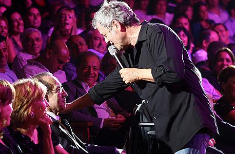 שלמה ארצי בהופעה (ארכיון), צילום: אוראל כהן