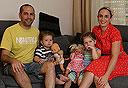 משפחת בראונר ממודיעין, צילום: נמרוד גליקמן