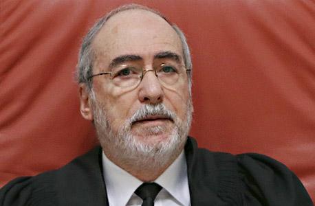 השופט אשר גרוניס, צילום: אלכס קולומויסקי