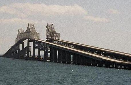 גשר סאנשיין לפני פיצוצו