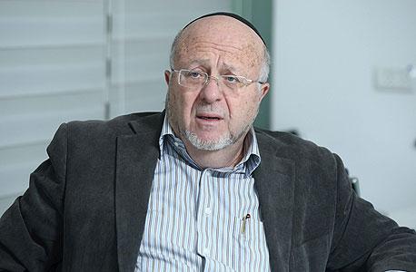 """שלמה אייזנברג בעל השליטה ויו""""ר מלם תים , צילום: עמית שעל"""