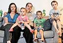 משפחת מאור, תקוע, צילום: נמרוד גליקמן