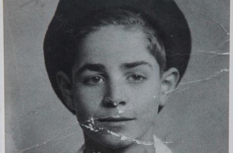 תמונת ילדות של בן שמחון