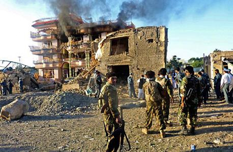 זירת הקרבות באפגניסטן
