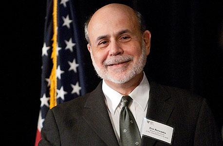 בן ברננקי נגיד הבנק המרכזי של ארצות הברית, צילום: בלומברג