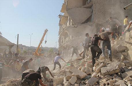 החורבן בסוריה, צילום: רויטרס
