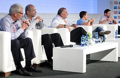 משתתפי מושב ההייטק של הוועידה הכלכלית הלאומית, צילום: עמית שעל
