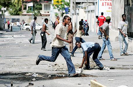 """האיטי, 2008: """"המצב של אי השקט הוא מצב מידבק"""""""