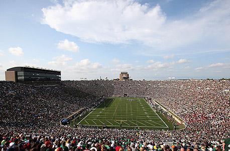 אוניברסיטת נוטרה דאם תשקיע 400 מיליון דולר בשיפוץ אצטדיון הפוטבול שלה
