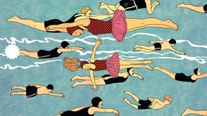 לשחות נגד הזרם, איור: בתיה קולטון