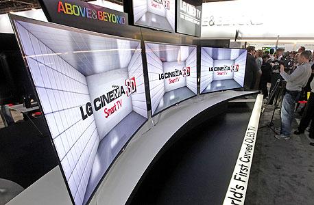 LG מסך קעור טלוויזיה
