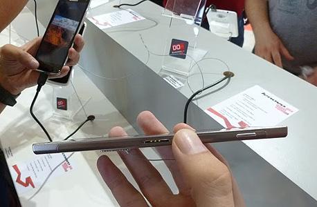 לנובו סמארטפונים K900 אנדרואיד סין, צילום: עומר כביר