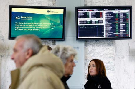 נעילה שלילית בבורסות אירופה על רקע המשבר הפוליטי באיטליה