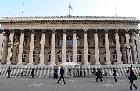 בורסת פריז, צילום: בלומברג