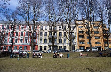 שכונת מגורים באוסלו, נורבגיה, צילום: בלומברג