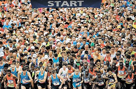 מרתון אמסטרדם, צילום: אי פי איי