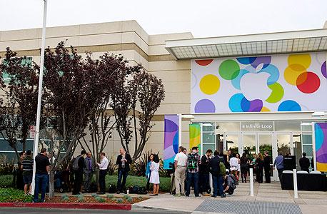 השקת אפל אייפון 5s אייפון 5C אייפון 6, צילום: בלומברג