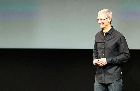 טים קוק ב השקת אפל אייפון 5s אייפון 5C אייפון 6, צילום: רויטרס
