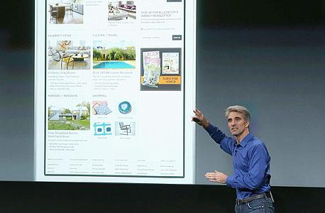 קרייג פדריצ'י ב השקת אפל אייפון 5s אייפון 5C אייפון 6, צילום: איי אף פי