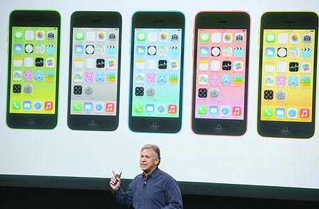 פיל שילר ב השקת אפל אייפון 5s אייפון 5C אייפון 6, צילום: איי אף פי