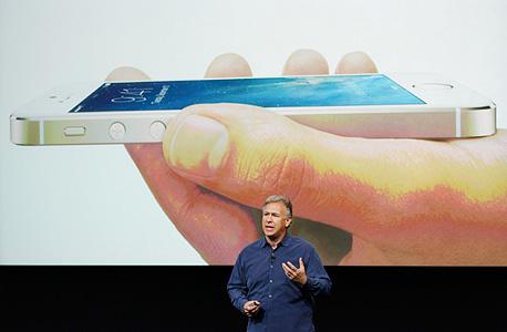 פיל שילר ב השקת אפל אייפון 5s אייפון 5C אייפון 6, צילום: רויטרס