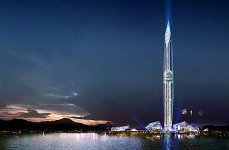 מגדל טאואר אינפיניטי סיאול דרום קוריאה המגדל הנעלם, צילום: architizer.com