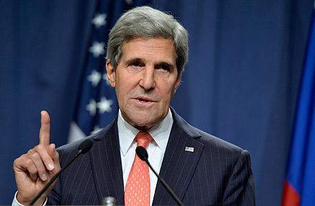 """קרי: הסיוע הביטחוני לישראל עשוי להיפגע עקב ההשבתה בארה""""ב"""