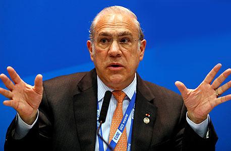 """אנחל גורייה מזכ""""ל OECD, צילום: אי פי איי"""